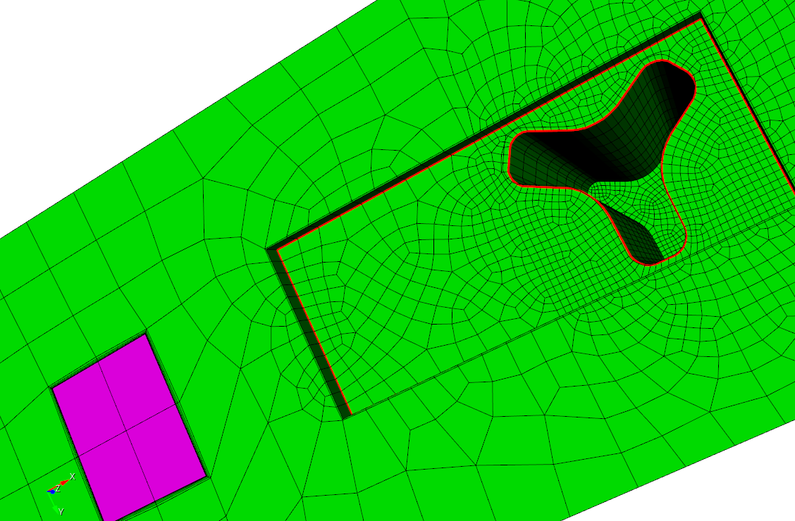 Boundary layers added using PostBL after creation of hex27 mesh for Nek5000 simulations.
